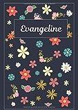 Evangeline: Journal | Agenda | Carnet de Notes | 120 pages | A4 | Blanc | Idée Cadeau