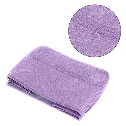 LUXJA-Toaster-Abdeckung-Toaster-Abdeckung-mit-2-Taschen-2-Slice-11-x-75-x-8-inches-Lavendel