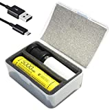 NITECORE MPB Modular Mini Rechargeable Lantern Flashlight, with 5000mAh Battery, Charger, and LumenTac Micro USB Cable