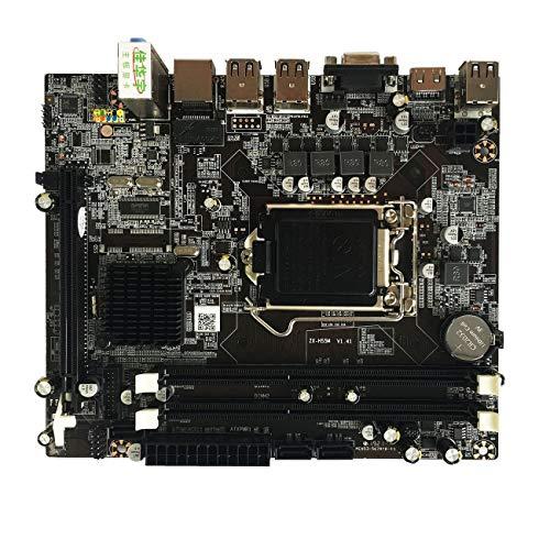 Ashley GAO Placa base de computadora de escritorio para Intel H55 Socket HDMI compatible LGA 1156 Pin Dual Channel DDR3 Mainboard con I/O Shield