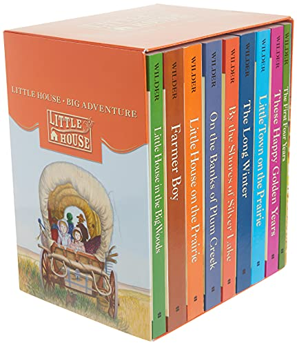 Little House Complete 9-Book Box Set: Books 1 to 9の詳細を見る
