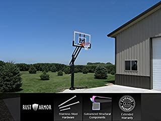 basketball hoop post
