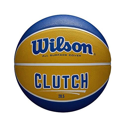 Wilson Clutch Basketball, Intermediate Size - 28.5', Orange/Blue