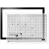 LitEnergy 32.5 Inch Diagonal LED Light Box A2 Light Table 17' x 24' Visual Work Area Light Pad for Tracing
