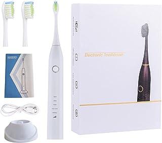 FDHT Elektryczna szczoteczka do zębów, miękka szczoteczka do zębów, 5 trybów czyszczenia, wodoodporna bezprzewodowa indukc...