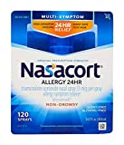 Nasacort Allergy 24 Hour Nasal Spray, 120 Sprays (0.57 fl. Ounce)