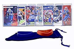 LeSean McCoy Football Cards (7) Assorted Bundle - Buffalo Bills Trading Card Gift Set