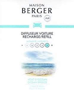 MAISON BERGER Set Ocean Breeze ceramic refills