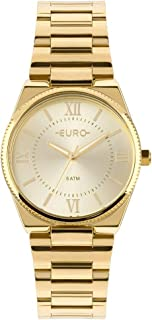 Relógio Feminino Euro Analógico Eu2035Ypa/4D Dourado