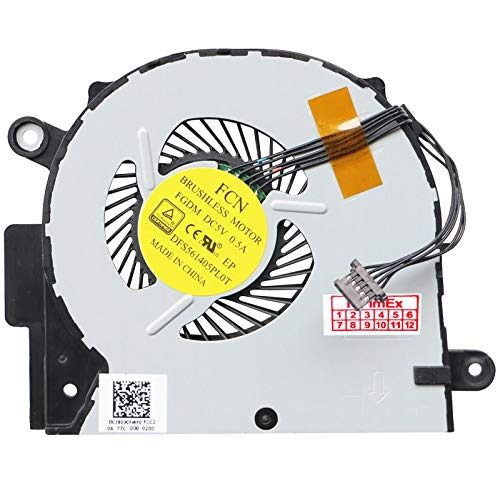 Fan Cooler Compatible with Lenovo V4000 Y50C Y50C Z41 Z41-70 Z51 Z51-70 Z51-70 Z51-70 (80K6)