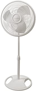 Lasko Fans 2520C Oscillating Stand Fan, White 16C