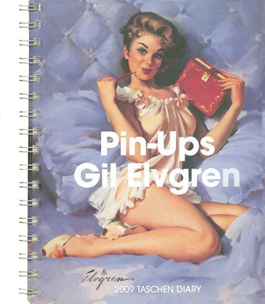 存在吸収する操作Gil Elvgren, Pin Ups 2009 Calendar (Diaries)