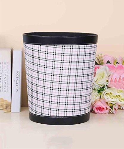 European Simple Trash Cans Mode Salon de la Chambre Creative Bureau sans couvercle poubelle (7 couleurs) ( couleur : A )