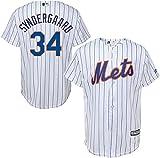 Noah Syndergaard New York Mets MLB Boys Youth 8-20 Player Jersey (White Home, Medium)