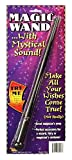 Forum Novelties Magic Wand Costume Accessory with Mystical Sound Effect