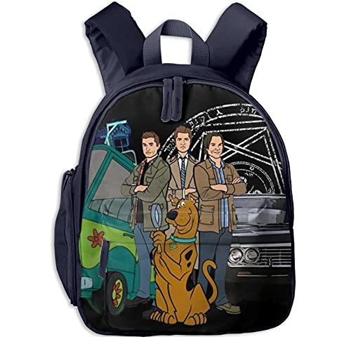 Mochilas para niños Scoobynatura para libros escolares para niños y adolescentes, mochila de viaje