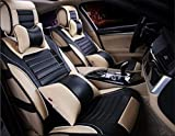Cuir Siège d'auto, Four Seasons Universal Tous Coussin glace Fil Accessoires voiture...