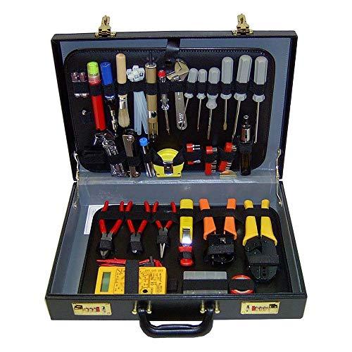Cablematic - Maletín de herramientas varias de 128 piezas