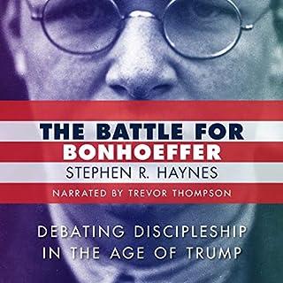 The Battle for Bonhoeffer audiobook cover art