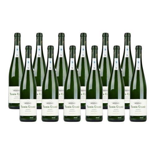 Txakoli Txomin Etxaniz - Vino Blanco - 12 Botellas
