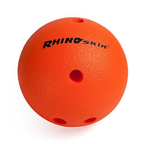 Champion Sports Foam Bowling Ball: Rhino Skin Soft Ball for Training & Kids Games