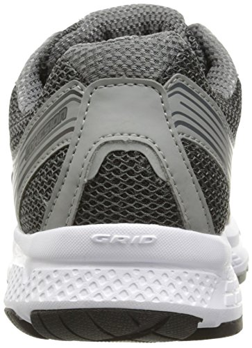 Saucony Men's Cohesion 10 Running Shoe, Grey/Silver, 12