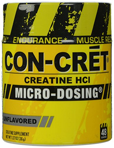 ConCret Creatine with MicroDosing Unflavored 48 Servings 127 Ounce