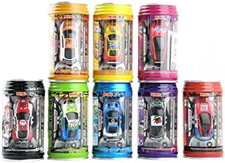 Anniston Kids Toys, 1Pc Coke Can Mini Speed RC Radio Remote Control Micro Racing Car Toy Gift Remote Control Toys for Chil...