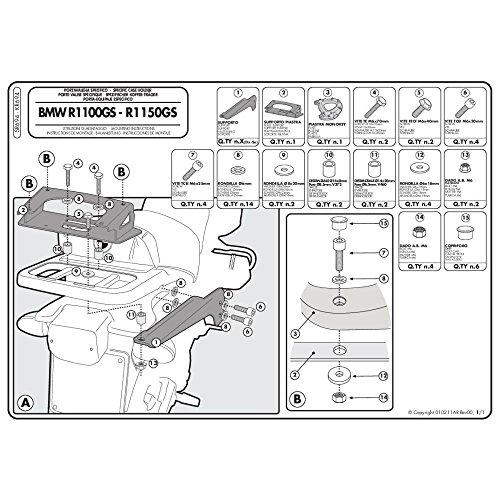 Givi SR694 Topcase Träger Monokey Koffer
