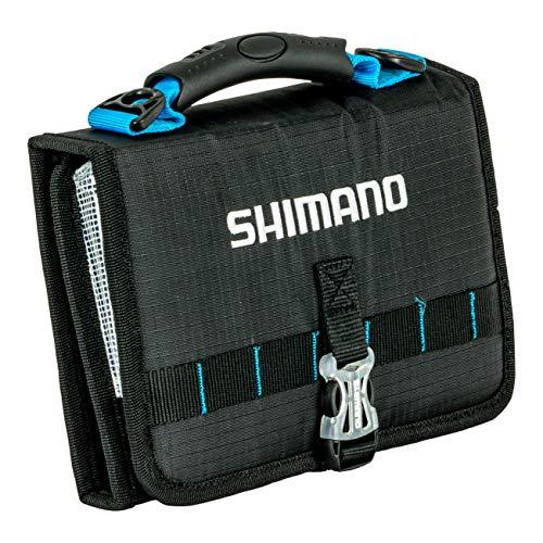 Shimano Butterfly Jig Bag Attrezzo da pesca, Nero/Blu, MD