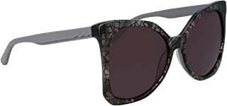 Karl Lagerfeld Women's Square Grey Plastic Sunglasses - KL967S 050 55-16-140mm
