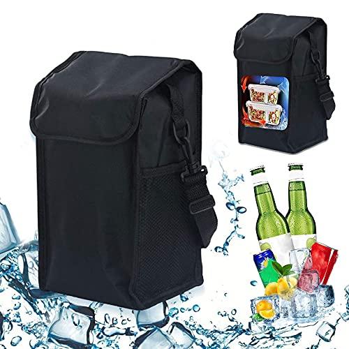 Bolsa térmica plegable, bolsa de picnic, bolsa de compras plegable, bolsa de picnic, bolsa de picnic, bolsa de almuerzo para hombres, bolsa de almuerzo (dahaohei)