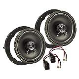 tomzz Audio 4057-011 Lautsprecher Einbau-Set Kompatibel mit VW Golf 6 Touran New...