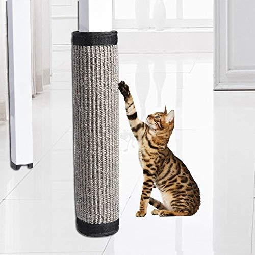 Hihey Krasbeschermer, krasbescherming, sofa, sisal, krasbestendig, anti-klap deken voor katten en banken, anti-klauw kat, krasbestendig, speelgoed