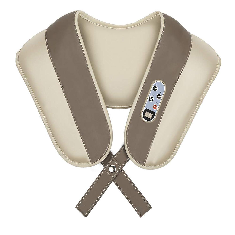 教育メルボルン事実強度を調整するための熱と深部組織練りマッサージを備えた頸部マッサージャーバックショルダーマッサージャー