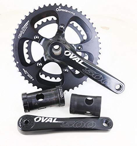 Oval Concepts 500 Praxis M30 52/36T 170mm Road Bike Crankset 10/11s + BB New