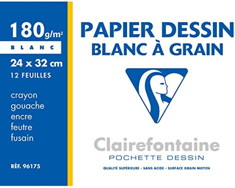 CLAIREFONTAINE dessin 10 Stück, gekörnt, 24 x 32 cm 180 g 12F B003Z08M0C | Düsseldorf Eröffnung