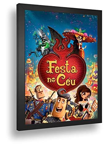 Quadro Decorativo Poste Festa No Ceu Animação Classica