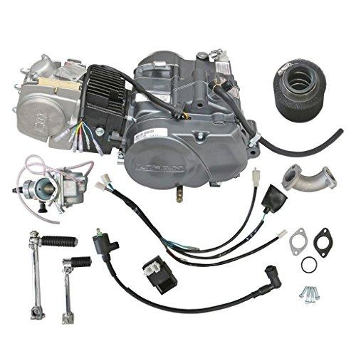 ZXTDR Lifan 140cc Engine Motor for XR50 CRF50 XR CRF 50 70 ATC70 SDG SSR Dirt Pit Bike Motorcycle | 1N234 Gear 4 Stroke Racing Engine