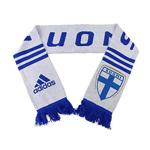 adidas Finnland Fan Schal blau weiß Suomi