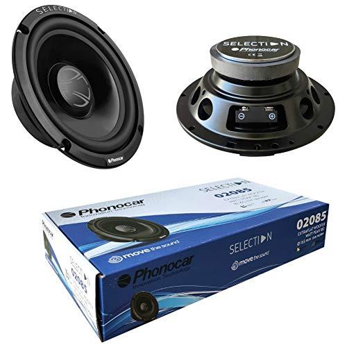2 Lautsprecher kompatibel mit PHONOCAR SELECTION 02085 woofer 16,50 cm 165 mm 6,5