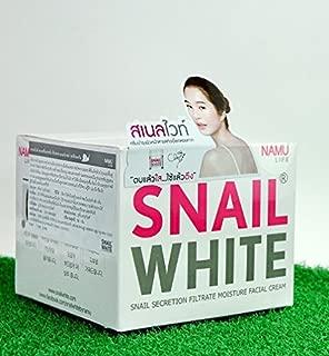 SNAIL WHITE NAMU FACE CREAM SKIN REGENERATE RECOVERY RENEW MOISTURIZER REPAIRING FOR Gentle Net Wt.1.8 Oz or 50 g.