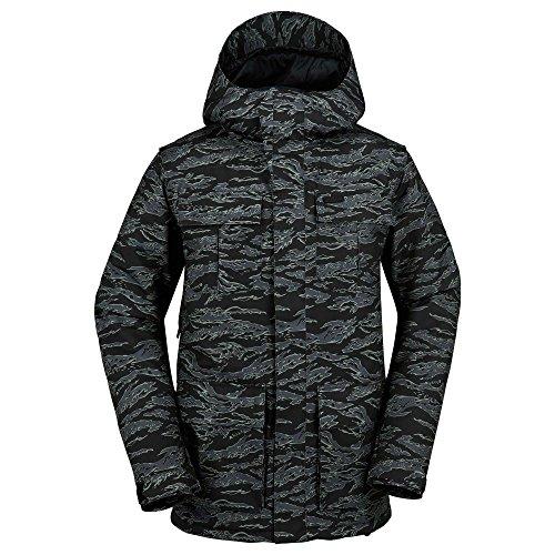 Volcom Alternate Jacket Giacca da Snowboard da Uomo, Camouflage, L, G0651710CAM