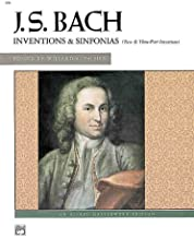 J.s. Bach Inventions & Sinfonias (Two & Three-part Inventions)