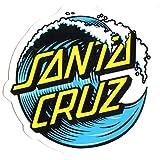 Santa Cruz Wave Dot Skateboard Sticker - 16cm in Size at It's widest Point - Skate Snow surf Board BMX