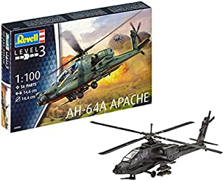 Revell Germany Apache 100 Helicopter Model Kit Model Kit