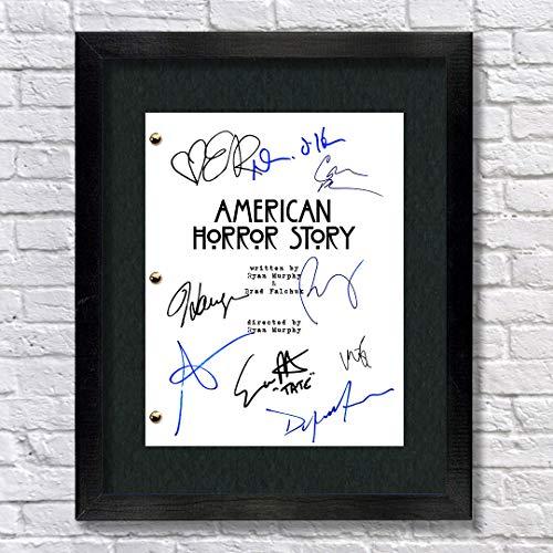 American Horror Story TV Cast Autographed Script