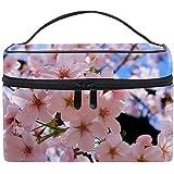 化粧ポーチ 機能的 大容量 オシャレ 祝い プレゼント ギフト美しい桜