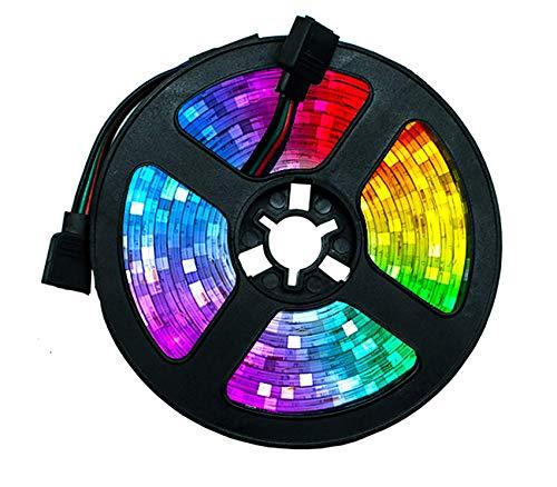 D Lights con Control Remoto de 10 m-TV D Light 5050 RGB IP65 Impermeable 20 Colores 8 Luz con 44 Llaves IR Remoto para LA Barra Fiesta Capa DE Cabra DE Cocina DE Cocina BJY969 (Size : 5M 16.4ft)