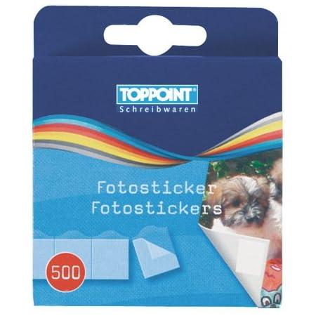 Toppoint 1000(2x 500) Foto Pegatinas Foto Adhesivo